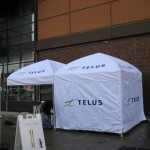 Telus with walls